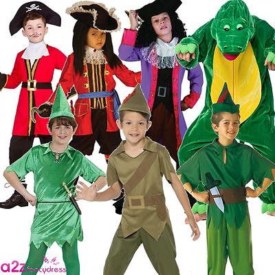 Dolce Peter Pan Ragazzi Bambini Libro Settimana Giorno Capitan Uncino Coccodrillo Costume-mostra Il Titolo Originale Così Efficacemente Come Una Fata