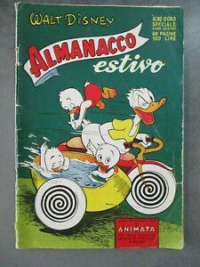 ALMANACCO ESTIVO 1951 - ALBO D'ORO SPECIALE 268 - WALT DISNEY MONDADORI