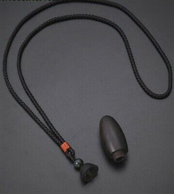 Black Horn Pendant Necklace Black Boho Necklace Beaded Black Tourmaline Necklaces Women Long Black Necklaces for Women