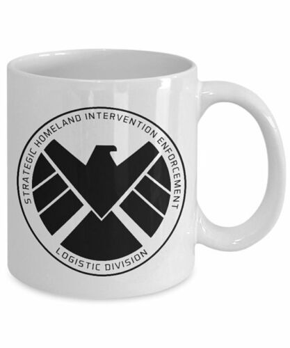Marvel Agents Of Shield Logo Mug Coffee Mug White