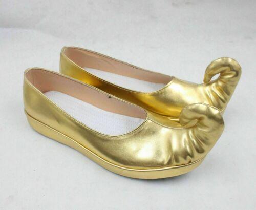 Aladdin and the magic lamp Jasmine princess cosplay shoes Boots Custom Made、