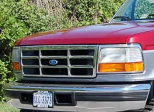 Winter Front 1992 1993 1994 1995 1996  Ford F150  WinterFront grille cover 112-2