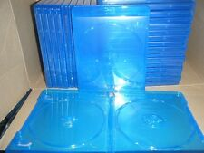 LOT OF (10) BLU-RAY CASE 2-DISC DOUBLE DUAL DISC 12mm REPLACEMENT CASES ✔☆NEW☆✔