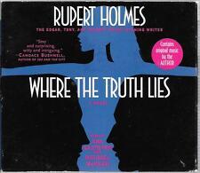 WHERE THE TRUTH LIES - RUPERT HOLMES  AUDIO BOOK (4 CD'S) 2003