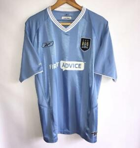 promo code 43909 f9288 Details about VERY RARE MANCHESTER CITY SPECIAL 2003/04 ORIGINAL FOOTBALL  SHIRT JERSEY SIZE XL