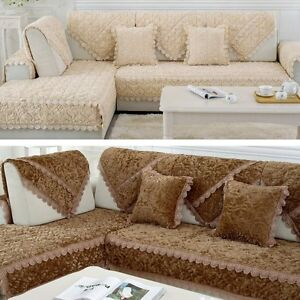 Image Is Loading Hot Sale Sofa Mat Stylish Rose Elegant Couch