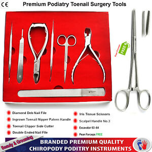 Details about Chiropody Podiatry Supplies Tools Kit For Thick Toenails  Surgery and Procedures