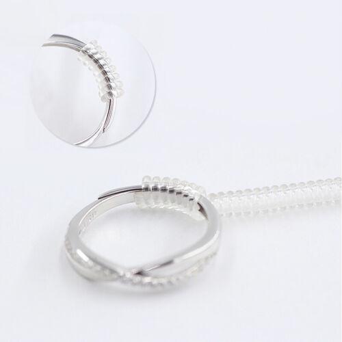 10cm Tightener Reducer Jewelry Transparent DIY Spring Rope Ring Spiral Based