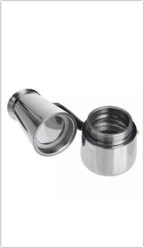 2021 Stainless Steel Moka Espresso Coffee Maker Percolator Stove Top Pot 6 Cup