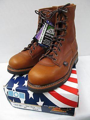 Thorogood American Heritage 804-4204 Safety Toe USA made