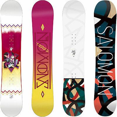 Salomon Lotus Damen Snowboard Anfänger Einsteiger All fho5G