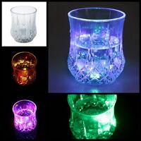 7oz LED Color Flashing Light Up Barware Wine Beer Drink Bar Party Club Mug Cup