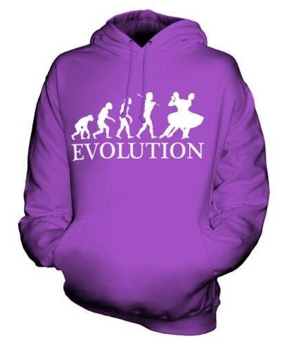 FOXTred DANCING EVOLUTION OF MAN UNISEX HOODIE MENS WOMENS LADIES GIFT CLOTHING