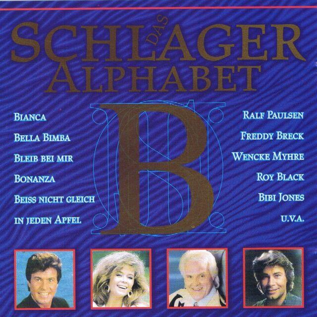 """DAS SCHLAGER ALPHABET """" Buchstabe B """" CD Neu & OVP MCP"""