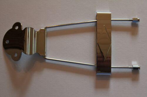 Kluson Saitenhalter für ES und Jazzgitarren nickel stop tailpiece ca 15 cm lang