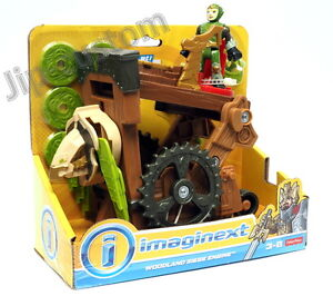 Fisher-Price-Imaginext-Woodland-Siege-Engine-Playset-034-New-034