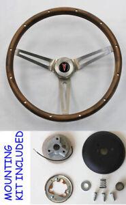 1969-1993-Pontiac-GTO-Firebird-GRANT-Steering-Wheel-Wood-Walnut-15-034