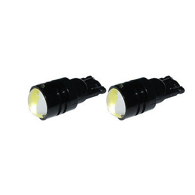 2PCS 3W T10 W5W High Power LED Car Light Side Wedge Lamp 194 927 161 168 White