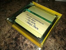 Post It Pop Up Note Dispenser 4 In X 4 In Self Stick Notes One Handed Brand New