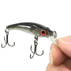 1-Mini-Rocker-Jerkbait-6cm-3-5g-Laser-Harter-Koeder-Crank-Fishing-Bait-Hook-Bass