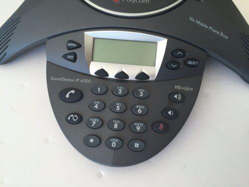 Polycom IP 6000 SoundStation 2201-15600-001 IP-6000 HD Voice Conference Phone