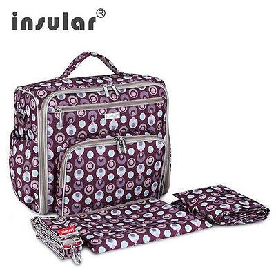High Quality Backpack Baby Diaper Bag Shoulder Handbag Waterproof 600D Nylon Bag