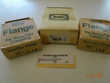"""173372 Old-Stock TB Woods 8S 1-1//4 Sure-Flex Coupler Flange Special 1-1//4/""""ID"""