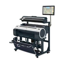 Canon Imageprograf Ipf785 36 In 1 Roll Color Inkjet Wide Format Printer Scanner