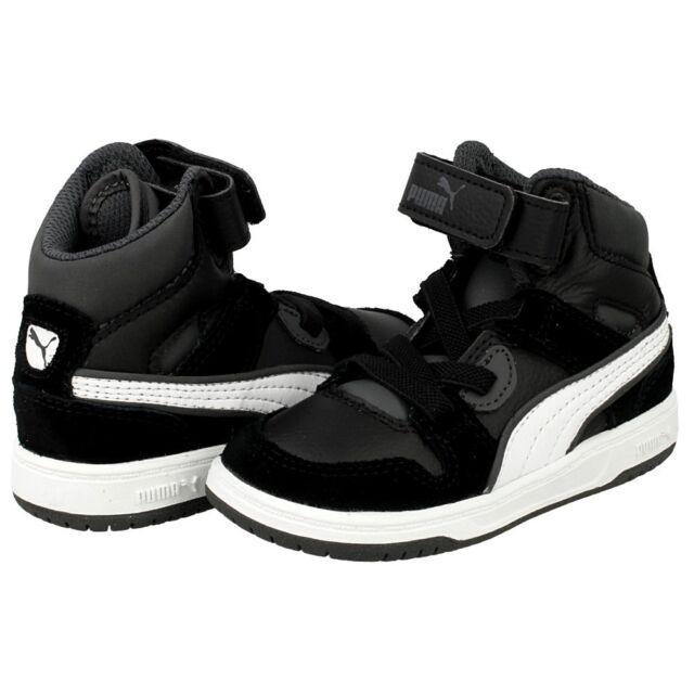 efe760a22c64 PUMA Rebound Street Baby High Tops Footwear SNEAKERS Kids Unisex ...