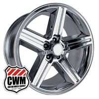 20 Inch 20x8 Iroc Z Chrome Oe Replica Wheels Rims For Chevy Nova 69-79