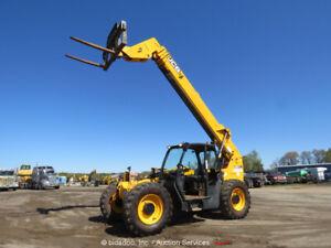 2013 JCB 507-42 7,000 lbs 7K Telescopic Reach Forklift Telehandler bidadoo