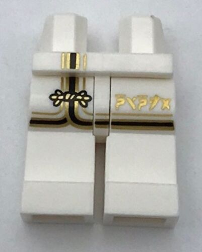 Lego New White Minifiure Legs Ninjago Ninja Pants Body Parts