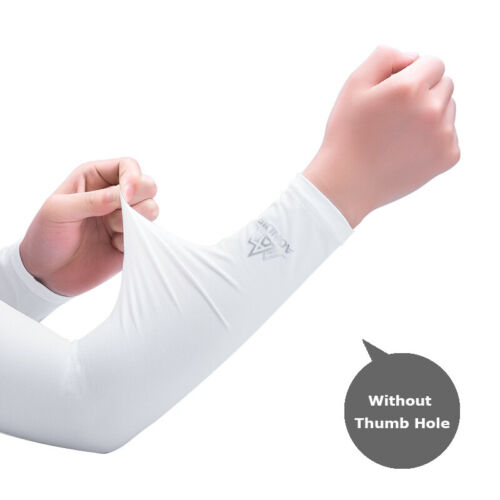 One Pair UV Sun Protection Cooling Arm Sleeve Cover Arm Cooler Warmer Cyling