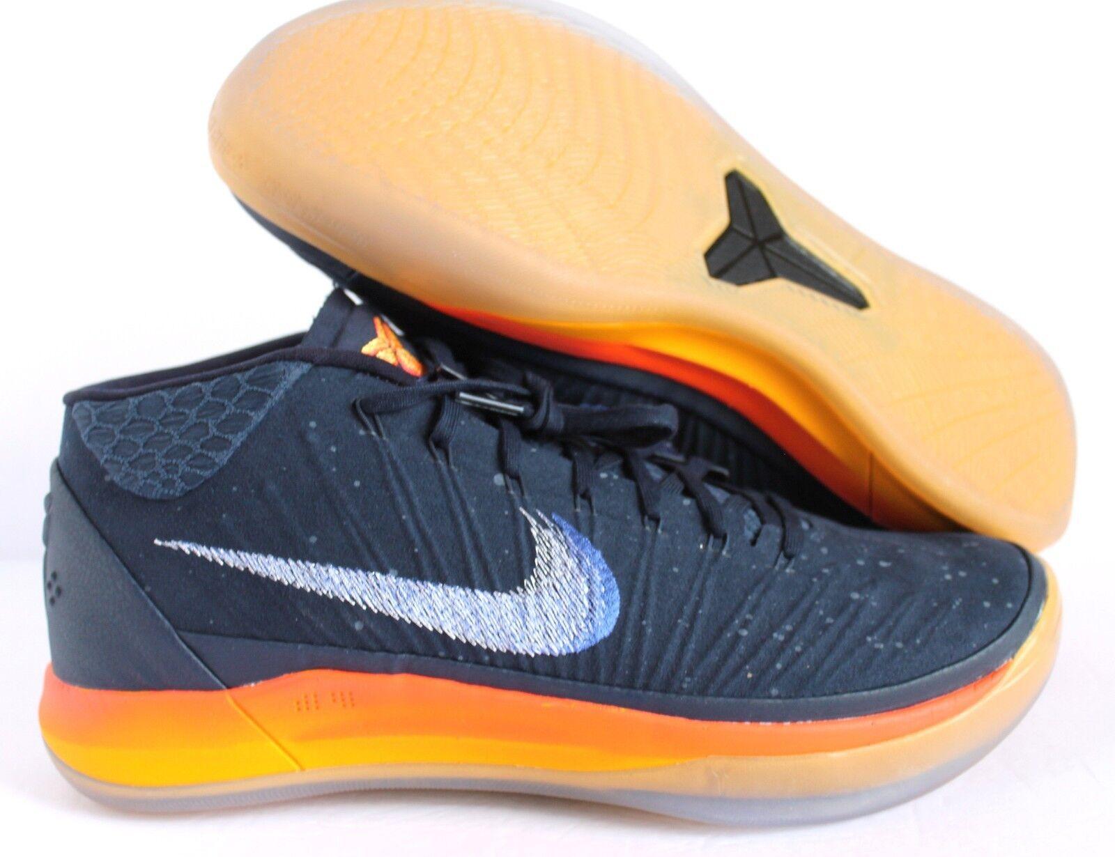 2e764b8aa2d8 Nike Kobe AD Mid Rise Mens Basketball Shoes 10.5 Obsidian Mega Blue ...