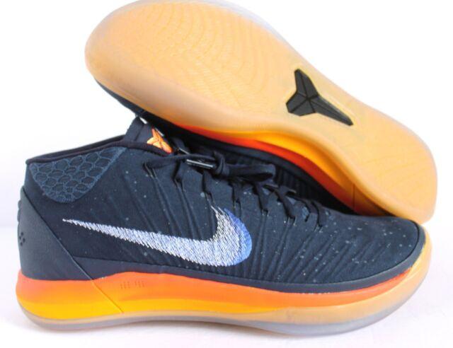 ab5ec6f308f Nike Kobe AD Mid Rise Mens Basketball Shoes 10.5 Obsidian Mega Blue ...