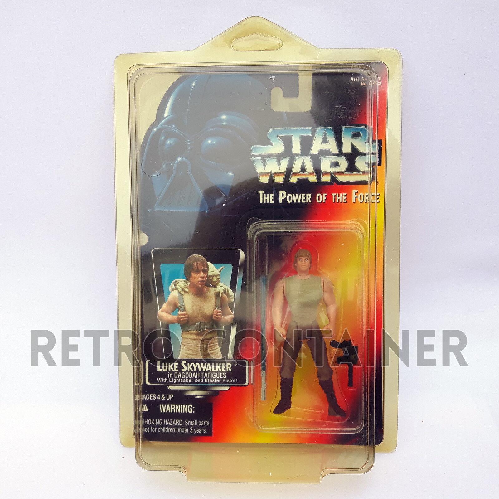 STAR WARS POTF2 Luke Skywalker Dagobah VARIANT Short Saber Long Tray Transition