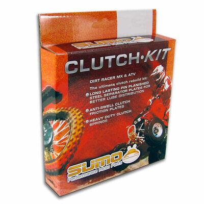 1992-2007 KX250 Tusk Clutch Kit Friction And Steel Plates kx 250 kawasaki discs