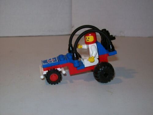 Lego 6502 Classic Town Car TURBO RACER Complete w//Instructions
