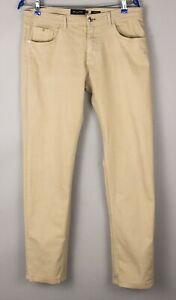 Massimo Dutti Hommes Slim Fit Stretch Jeans Coupe Droite Taille W32 L32 BBZ181
