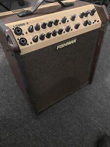 Fishman Loudbox Performer 120W  Acoustic Guitar Combo Amp Brown