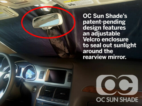Mcarcovers Windshield OC Sun Shade for 82-87 Pace Arrow Pace Arrow OCSS-641382