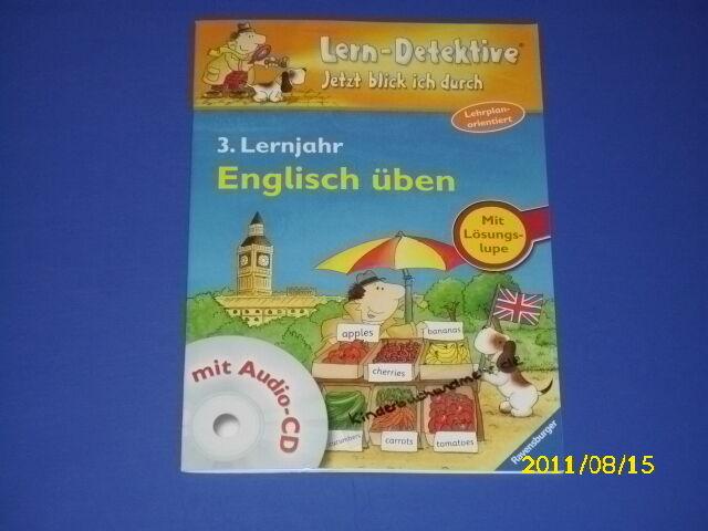 Lern-Detektive Englisch üben mit Audio-CD 3. Lernjahr