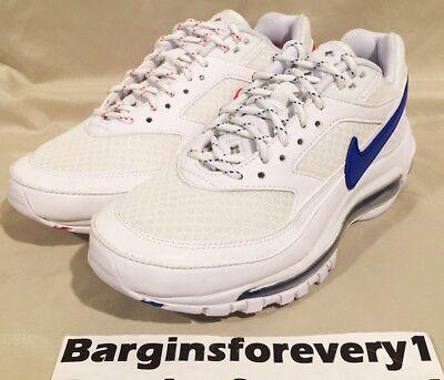 hot sale online b2e39 a0358 Nike Air Max 97 / BW / Skepta - Size 4 - Summit White/Hyper Cobalt -  AO2113-100 191885861890 | eBay