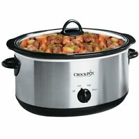 Crock-pot Scv700ss 7-quart Oval Manual Slow Cooker, Stainless Steel , New, Free on sale