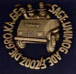 Unimog-Orden GroKaGe Gaggenau 2002 in bronze