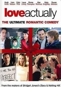 Love Actually DVD Full Frame Edition Hugh Grant Liam Neeson KIERA KNIGHTLY MOVIE