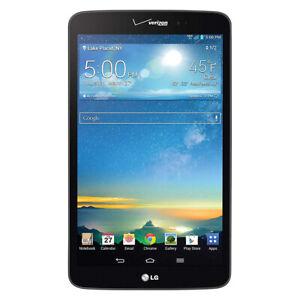 LG VK810 G Pad 8.3 16GB Verizon Tablet Black