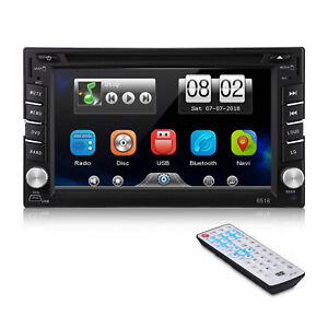 2-DIN-6-2-034-Touch-Screen-Autoradio-Bluetooth-DVD-GPS-SAT-NAV-Stereo-MP5-Lettore