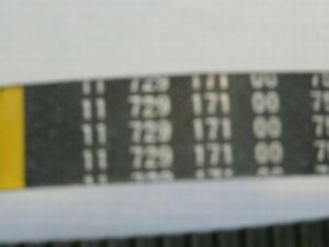 Peugeot Antriebsriemen Zahnriemen für 50ccm Peugeot Roller Modelle 729171