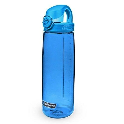 Sportflasche Nalgene OTF 0,65L blau Trinkflasche Radflasche NO BPA DICHT